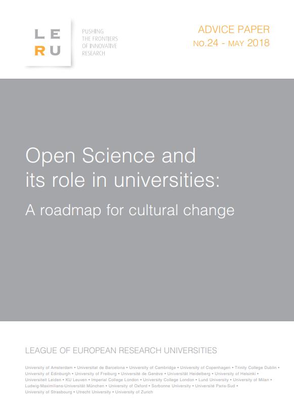 Lộ trình thay đổi văn hóa hướng tới Khoa học Mở
